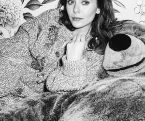 actress, elizabeth olsen, and photshoot image