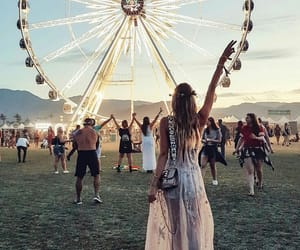coachella, music festival, and party image