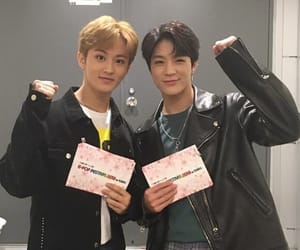mark, nct, and jeno image