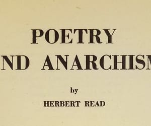 anarchy, poetry, and quotes image