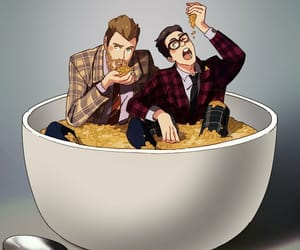 cereal, rhett and link, and link neal image