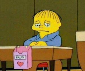 ralph, sad, and the simpsons image