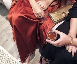 fashion, red, and abaya image