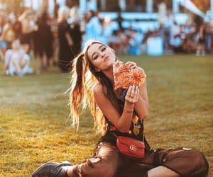 fashion, coachella, and pizza image