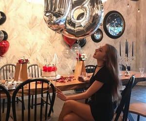 birthday, cake, and girl image