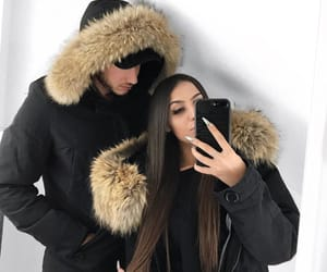 matching couple, relationship goals, and couple goals image