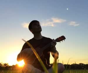 thomas sanders, guitar, and youtuber image