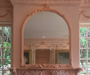 mirror and peach image