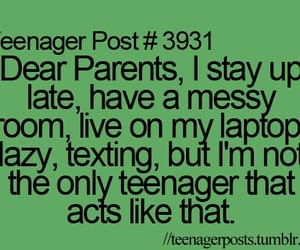 parents, teenager post, and texting image