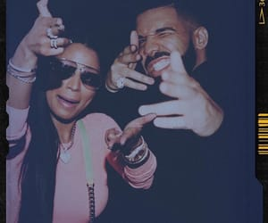 Drake, nicki minaj, and dricki image