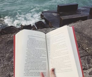book, water, and ocean image
