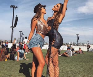 coachella, fashion, and california image