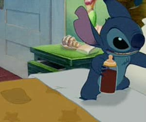 stitch, disney, and gif image