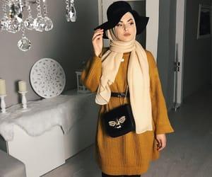 classy, fashion, and hijabista image