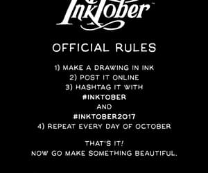 challenge, october, and inktober image