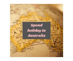 australia, bucket list, and map image