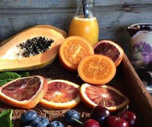 food, fruit, and boy image