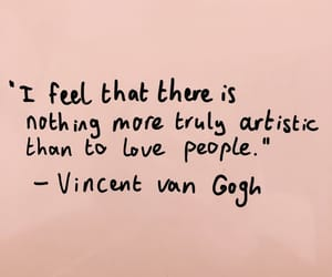 quotes, art, and vincent van gogh image