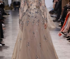 dress, elie saab, and Couture image