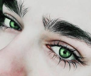 eyes, blue, and boy image
