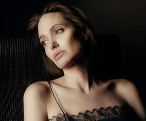 Angelina Jolie, light and shadow, and natural beauty image