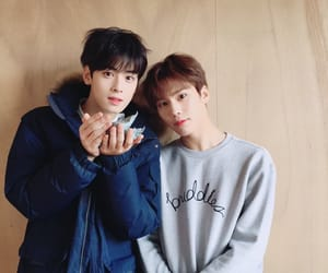 astro, rocky, and kpop image