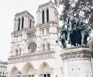 france, paris, and notre dame image