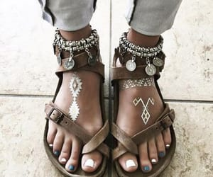 fashion, sandals, and jewelry. image