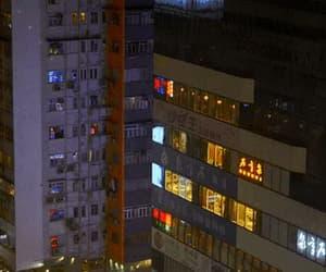 gif, city, and night image