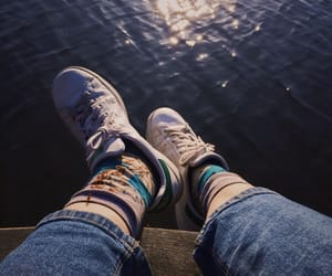 90s, blue, and legs image