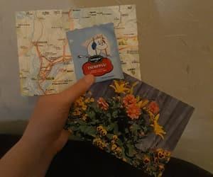 diy, map, and postcard image
