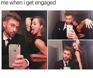 couple, engaged, and goal image
