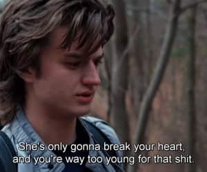 stranger things, quotes, and steve image
