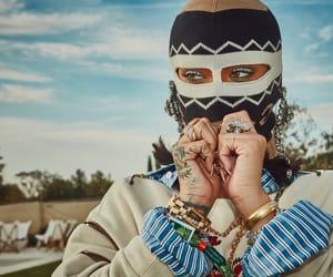 coachella, mask, and fenty image