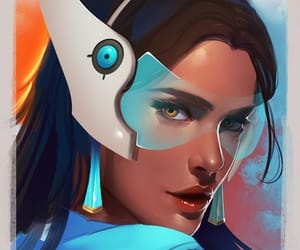 symmetra and overwatch image