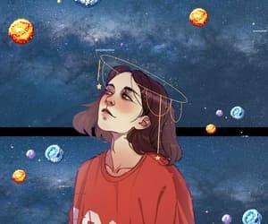 art, desenho, and estrela image