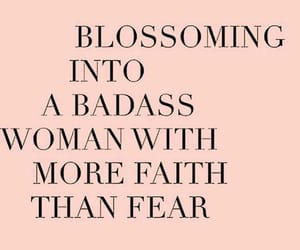 quotes, woman, and badass image