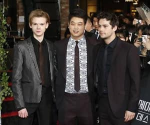 ki hong lee, maze runner, and dylan o'brien image
