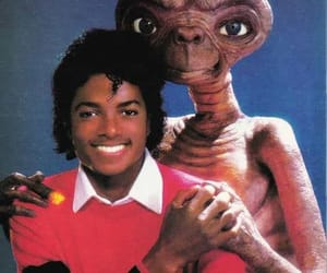 michael jackson, et, and jackson image