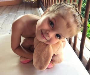 baby, blonde, and girl image