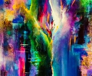 art, colours, and cool image