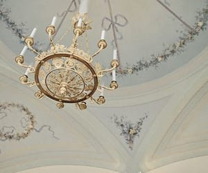 chandelier, royal, and aes image