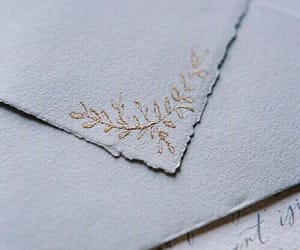 Letter, aesthetic, and gold image