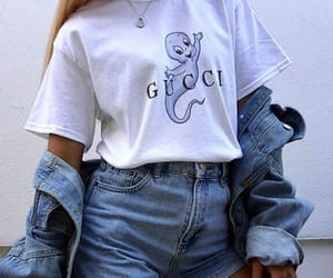 cute, ghost, and gucci image