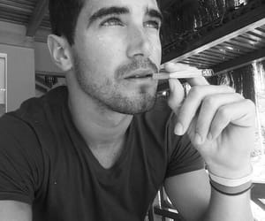 black&white, thoughts, and cigarretes image