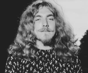 70s, black and white, and led zeppelin image