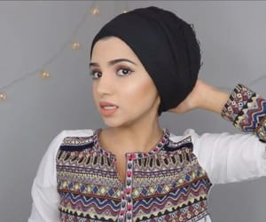 hijab, Modeling, and hijabstyle image