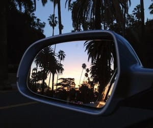 city, mirrors, and california image