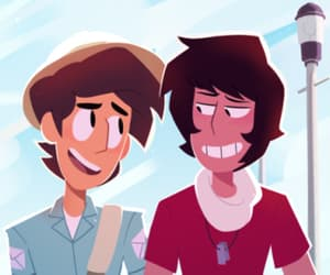 jamie, kevin, and steven universe image