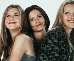 friends, Lisa Kudrow, and Courteney Cox image